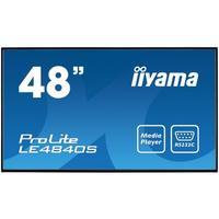 Iiyama public display: ProLite LE4840S-B1 - Zwart
