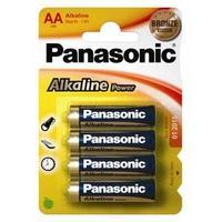 Panasonic batterij: 1x4 LR6APB - Blauw, Goud
