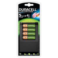 Duracell oplader: 15 minuten batterijlader, 1 tel - Zwart