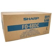 Sharp toner: Toner/Developer Pages 15000 - Zwart