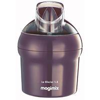 Magimix ijsmachine: Les Glaciers, Purper, 1.5 L - Violet