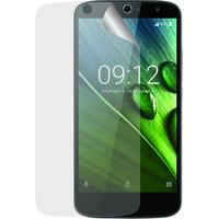 Azuri screen protector: Ultra Clear duo screen protector voor Acer Liquid Zest 3G en 4G - Transparant