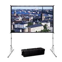Da-Lite projectiescherm: Fast-Fold Deluxe 142 x 244 - Zwart