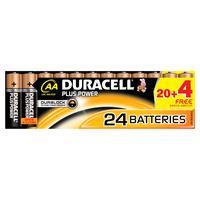 Duracell batterij: Plus Power - Zwart, Copper