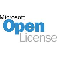Microsoft software licentie: One Drive Business/Office Online Open Shared Server SNGL SubsVL OLP NL Annual Qlfd