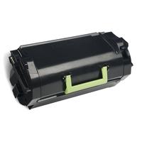 Lexmark cartridge: 522X R - Zwart
