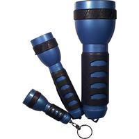Schwaiger zaklantaarn: TLSET3B - Zwart, Blauw