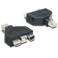Trendnet USB & FireWire adapter for TC-NT2 Kabel adapter - Zwart