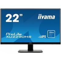 """Iiyama monitor: ProLite 22"""" monitor met een IPS panel en ultra vlakke voorkant - Zwart"""