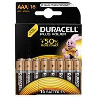 Duracell Plus Power batterijen AAA 16 stuks