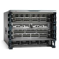 Cisco Nexus 7700 Switches 6-Slot Chassis, including fan trays, no power supply spare netwerkchassis - Grijs