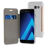Muvit mobile phone case: Folio Case, Samsung Galaxy A5 2017, Card slot, 79g, Gold - Goud