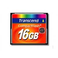 Transcend flashgeheugen: Compact Flash kaart 16 GB