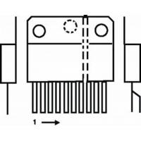 ST-MicroElectronics  Power driver 15p Component