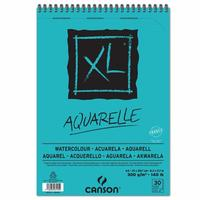 Canson XL Aquarelle A4 Schrijfblok - Blauw