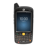 Zebra PDA: MC67 - Zwart, Alphanumeric