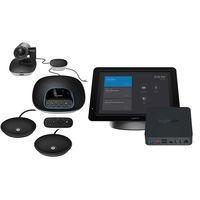 Logitech videoconferentie systeem: Group, SmartDock, ExtenderBox & Mics