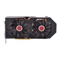XFX videokaart: AMD Radeon RX 580, True:1366MHz, Boost OC+:1386MHz, 8GB GDDR5, 256-bit - Zwart