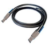 Adaptec kabel: ACK-E-HDmSAS-HDmSAS-2M - Zwart