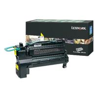 Lexmark toner: Yellow Extra High Yield Return Program Print Cartridge - Geel
