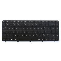 HP notebook reserve-onderdeel: KYBD TM TP W8 NRL  - Zwart