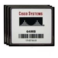 Cisco flashgeheugen: 64MB Compact Flash Memory