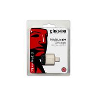 Kingston Technology geheugenkaartlezer: MobileLite G4 - Zwart, Grijs