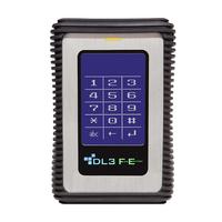 DataLocker DL3 FE externe harde schijf - Aluminium, Zwart