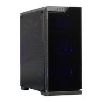 Cooltek TG-01 - RGB Behuizing - Zwart