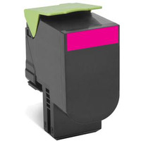 Lexmark toner: Toner Magenta, 3000 pagina's, voor CX410de / CX410dte / CX410e / CX510de / CX510dhe / CX510dthe