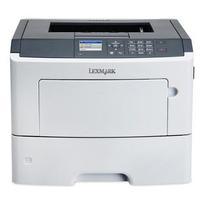 Lexmark laserprinter: MS610dn - Zwart