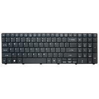 Packard Bell Keyboard (Nordic), Black Notebook reserve-onderdeel - Zwart