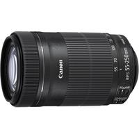 Canon camera lens: EF-S 55-250mm f/4-5.6 IS STM - Zwart
