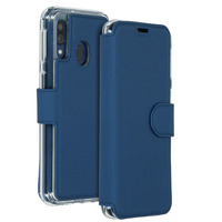 Xtreme Wallet Booktype Samsung Galaxy A40 - Blauw - Blauw / Blue Mobile phone case