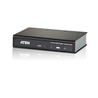 Aten video splitter: 2 Port HDMI Splitter 4K/2K - Zwart