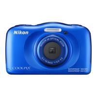 Nikon digitale camera: COOLPIX W100 - Blauw