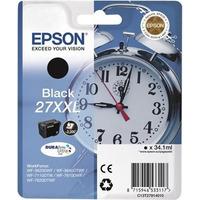 Epson inktcartridge: 27XXL DURABrite Ultra - Zwart