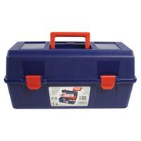 Tayg : Plastic Tool Box, Box Blue, Tray Red, Box Transparent - Blauw, Rood, Transparant