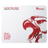 Tt eSPORTS muismat: Mouse Pad White Ra / 360x300 / White Edition / CWT (Cross-Weave Technology) / Sensor Precision / .....