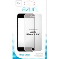 Azuri screen protector: AZDUOSPAPPIPH6-5.5 schermbeschermer - Transparant