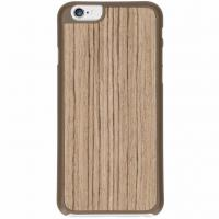 IMoshion product: Lichtbruin Wood Snap On Cover iPhone 6 / 6s - Lichtbruin / Light Brown