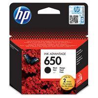 HP inktcartridge: 650 - Zwart