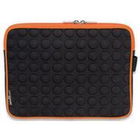"""Manhattan tablet case: Tablet Bubble Case, 25.654 cm (10.1 """") , EVA & neoprene, Black/Orange - Zwart, Oranje"""