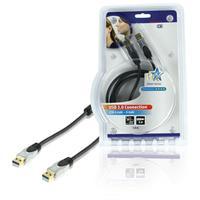 HQ USB kabel: 1.8m USB 3.0 A/A