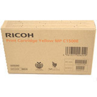 Ricoh inktcartridge: Gel Type MP C1500 Yellow - Geel