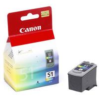 Canon inktcartridge: CL-51 - Cyaan, Magenta, Geel