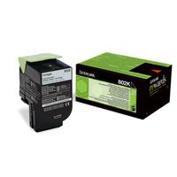 Lexmark toner: 802K - Zwart