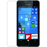 Azuri screen protector: Screen protector Tempered Glass voor Microsoft Lumia 550