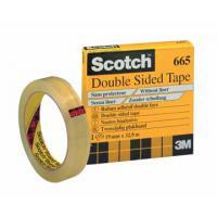 Scotch plakband: DUBBELZ.TAPE 19MMX33M