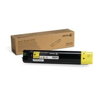 Xerox toner: Hoge capaciteit tonercartridge, geel (12.000 pagina's) Phaser 6700